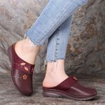 Women Retro Orthopedic Comfy Waterproof Sandals