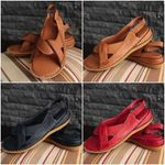 Women Premium New Women's Knotted Comfortable Flat Sandals