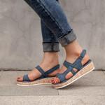 2021 Women Fashion Casual Slingback Wedge Sandals