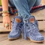 New Women's Suede Retro Ankle Boots