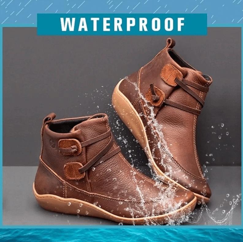 2021 Premium Waterproof Ankle Boots