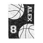 Custom Camouflage Basketball Blanket