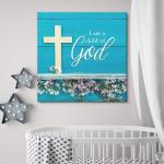 """I Am A Child Of God"" Premium Canvas"