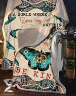- Blanket - Butterfly - Be Kind