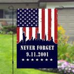 9 11 September 11 Patriots Day Never Forget Garden Banner Flag House Flag