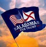 Alabama For Trump Garden Flag, House Flag