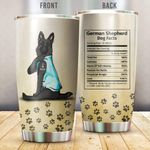 Black German Shepherd I Love Mom Vr2 Stainless Steel Insulated Tumbler Cups Mother'S Day