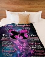 Blanket  To My Daughter Blanket - You Are My Precious Daughter - Blanket Gift For Daughter From Mom - Birthday Gift For Daughter
