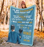 Blanket To My Daughter - Father And Daughter - Christmas, Birthday Gift For Daughter - I Hope You Believe In Yourself