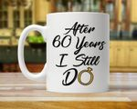 60th Anniversary Mug, Gift for Husband, Him, Couple, Gift for 60 Year Anniversary