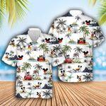 Mickey Mouse Dis-ney Hawaiian Aloha shirt, Mickey Lover Shirt, Dis-ney Hawaiian, Summer shirt, Family Summer, Summer Vacation