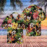 Disney Tropical Hawaiian Shirt,Mickey Mouse shirt,Disney Summer shirt, Disney Gifts