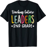 Back to school 2021 - 2nd grade funny teaching future leaders Back to School Shirt for Teachers