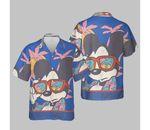 Disney Mickey And Friends Mickey Mouse Tropical Portrait Hawaiian Shirt