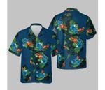Disney Tropical Mickey Print T-Shirt Hawaiian Shirt