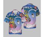 Disney Pixar Wall-E Fly Eve Retro Distressed T-Shirt T-Shirt Hawaiian Shirt