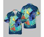 Disney Finding Dory Just Keep Swimming Graphic T-Shirt Hawaiian Shirt