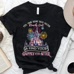 Happily Ever After Inspired Unisex T Shirt, Feel Your Heart Beat Faster, Disney Anniversary, Disney Trip Shirt, Disney Vacation Shirt