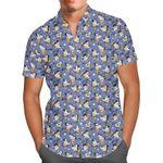 Goofy - Disney Inspired Men's Button Down Short-Sleeved Shirt