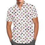 Disney Villains Mouse Ears - Men's Button Down Short-Sleeved Shirt