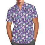Tomb Sweet Tomb - Disney Haunted Mansion Inspired Men's Button Down Short-Sleeved Shirt