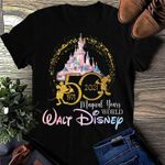 Walt Disney 50th Anniversary, 50 Magic Year Disney World T-shirt, Disney Vacation Shirt, Disney Family Shirt, Magic Kingdom Gift Shirt