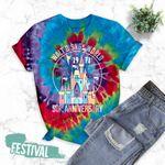 Tie Dye Festival Shirt, Disney 50th, Disney Anniversary Shirts, Walt Disney World, Disney Trip Shirt, Disney Castle Shirt