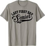 Back to school 2021 - My Last First Day Senior Class Of 2022 Back to School Shirt