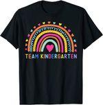 Back to school 2021 - Team Kindergarten Rainbow Back To School Shirt for kids and teachers