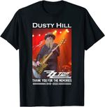 Dusty-Hill Thank You For Memories T-Shirt