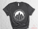 Camping shirt, Nature shirt, Sunny Mountain Shirt, Travel Shirt, Hiking Shirt, Adventure Shirt, Mountains Calling, East Coast, Outdoor shirt