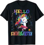 Back to school 2021 - Hello Kindergarten Unicorn Back To School Shirt for teachers and Kids