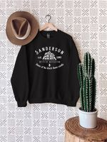 Black Flame Candle Sweater, Sanderson Witch Museum Sweatshirt, Halloween Sweater, Halloween Witches, Sanderson Sisters Sweatshirt