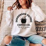 Sanderson Sisters Coffee, Witches Brew, Halloween Sweatshirt for Women, Hocus Pocus SweatShirt