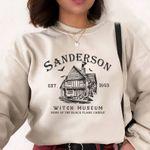 Sanderson Witch Museum Sweatshirt & T-Shirt, Halloween Sweatshirt