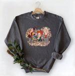 Halloween Vintage Sweatshirt, Hocus Pocus Sweatshirt, Sanderson Sisters Sweatshirt, It's Just A Bunch Of Hocus Pocus, Halloween Sweatshirt