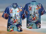 Love Mickey Mouse Hawaii Beach Shirt, Love Disney Summer Shirt