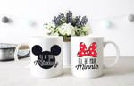 Disney mugs for couples, Mug set for couples, Couple mug set, Disney anniversary gifts, Disney engagement gift, Disney newlywed gift set