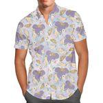 Minnie Floral Princess - Disney Inspired Men's Button Down Short-Sleeved Hawaii Shirt