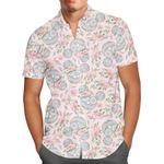 Minnie Sugar Skulls Mouse Ears Disney Inspired - Men's Button Down Short-Sleeved Hawaii  Shirt