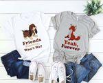 Disney Friends Shirt, Fox and Hound Shirt, Disney Best Friend Shirts, Disney Matching, Animal Kingdom Shirt, Disney Family Shirt