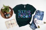Disney Villain Shirt, Pick your poison, Disney Halloween Shirt, Disneyland Shirt, Disney Trip Shirt, Disney world tshirt