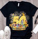 Walt Disneyworld 50th Anniversary T-shirt, 1971-2021 DW 50th Anniversary Shirt, WDW Shirt, Magic Kingdom Shirt, Disneyland Shirt