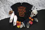 Hocus Pocus Orange Ink Shirt, Halloween Shirt, Womens Fall Shirt, Plus Size Halloween Shirt, Youth Halloween Shirt, Halloween Graphic Tee