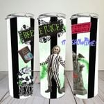 Beetlejuice | Digital Download | Sublimation | 20 oz Skinny Tumbler