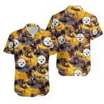 Pittsburgh Steelers Hawaiian Shirt / Pittsburgh Steelers Hawaii Shirt / Pittsburgh Steelers Aloha Shirt / Gift For Pittsburgh Steeler Lover