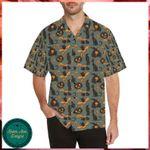 Witch Bat Halloween Hawaii Shirt - Halloween Short-Sleeve Shirt