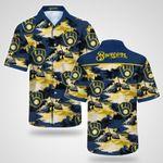 Milwaukee Brewers Hawaii Shirt / Milwaukee Brewers Aloha Shirt / Gift For Milwaukee Brewers Lover / Milwaukee Brewers Hawaiian Shirt