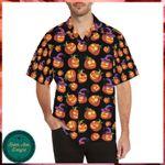 Witch Pumpkin Halloween Hawaii Shirt - Halloween Short-Sleeve Shirt
