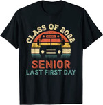 Back to school 2021 - Class Of 2022 Senior My Last First Day bts shirt, adult youth shirt
